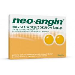 Neo-angin brez sladkorja, pastile z okusom žajblja
