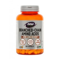 NOW Branched Chain Amino Acids (BCAA), kapsule