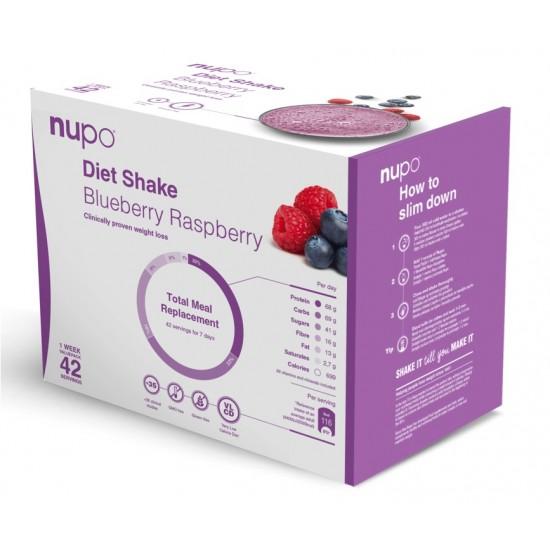 Nupo Dietni napitek, borovnica in malina (42 porcij) Prehrana in dopolnila