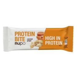 Nupo, proteinska ploščica - karamela in ingver