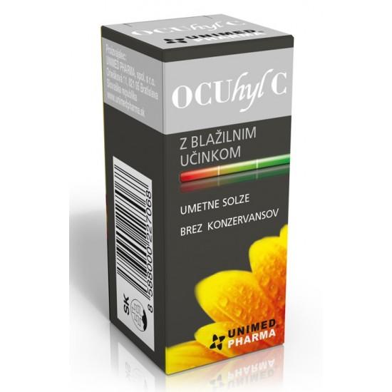 OCUhyl C kapljice za oko Oči, leče in očala