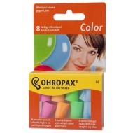 Ohropax Color, barvni penasti čepki A8
