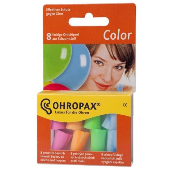 Ohropax Color, barvni penasti čepki A8 Pripomočki in zaščita