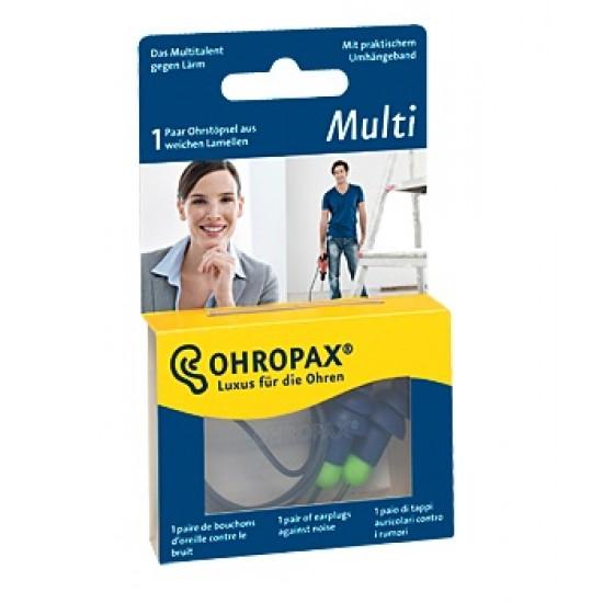 Ohropax Multi, čepki za ušesa z vrvico A2 Pripomočki in zaščita