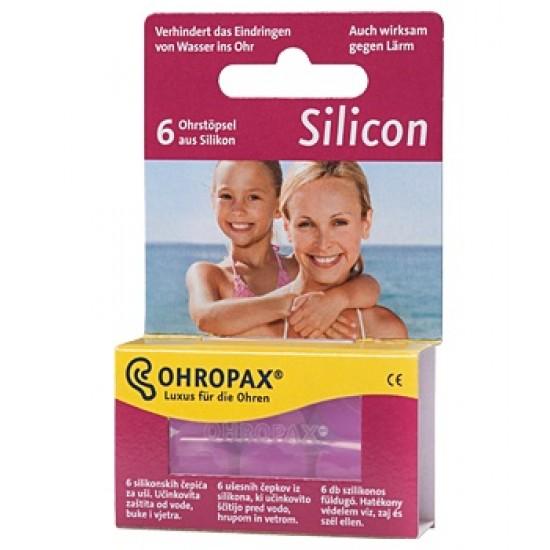 Ohropax Silicon, ušesni čepki A6 Pripomočki in zaščita