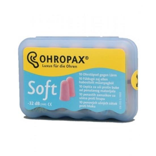 Ohropax Soft, ušesni čepki A10 Pripomočki in zaščita