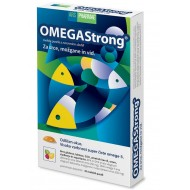 OmegaStrong, mehke pastile z okusom jagode, limete in limone