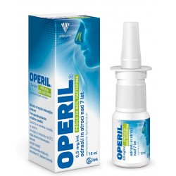 Operil 0,5 mg/ml, pršilo za nos - za odrasle, 10 ml