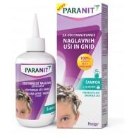 Paranit, šampon za odstranjevanje naglavnih uši in gnid