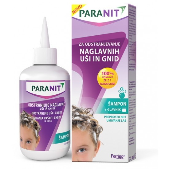 Paranit, šampon za odstranjevanje naglavnih uši in gnid Kozmetika