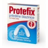 Protefix, pritrdilne blazinice za spodnjo čeljust