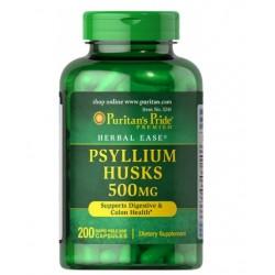 Puritans Pride Psyllium indijski tropotec 500mg, kapsule