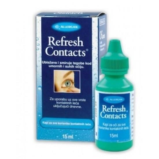 Refresh contacts, kapljice za oči Pripomočki in zaščita