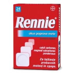 Rennie, žvečljive tablete