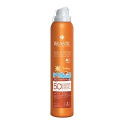 Rilastil Sun Baby PPT, zaščitno transparentno pršilo SPF50+