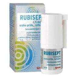 Rubisept 1,5 mg/ml, oralno pršilo