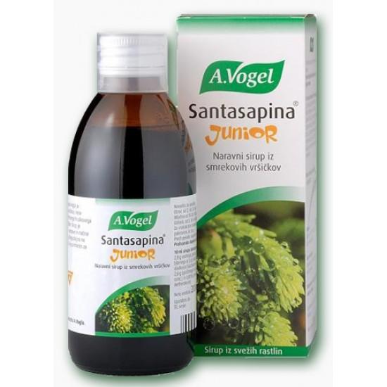 A.Vogel, Santasapina junior sirup Prehrana in dopolnila