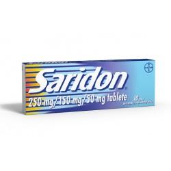 Saridon, tablete