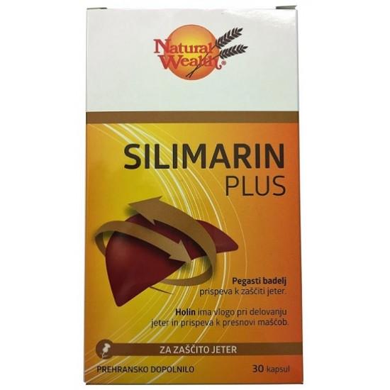 Natural Wealth Silimarin Plus, kapsule Prehrana in dopolnila