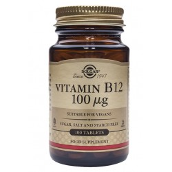 Solgar B12 100mcg, tablete