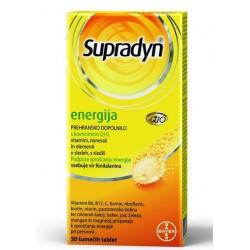 Supradyn Energija Q10, 30 šumečih tablet