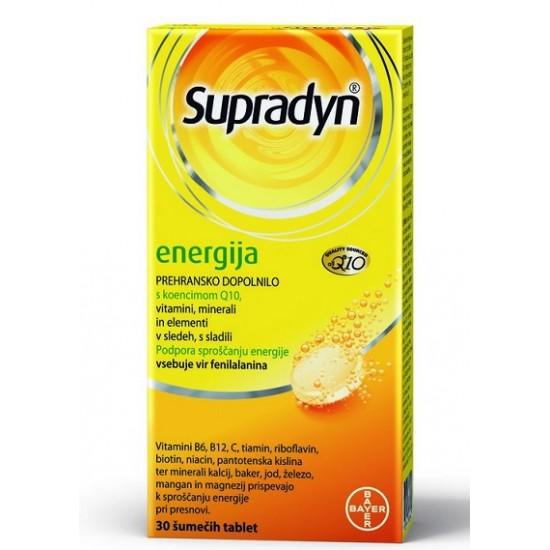 Supradyn Energija Q10, 30 šumečih tablet Prehrana in dopolnila
