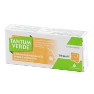 Tantum Verde z okusom pomaranče in medu, pastile