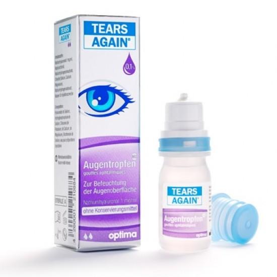 Tears Again, kapljice za oči Pripomočki in zaščita