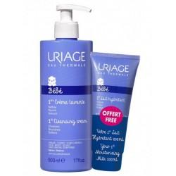 Uriage 1er, Creme Lavante za umivanje + mleko za nego kože