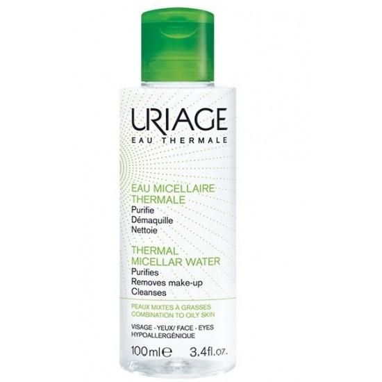 Uriage termalna micelarna voda za čiščenje mešane do mastne kože - 100 ml Kozmetika