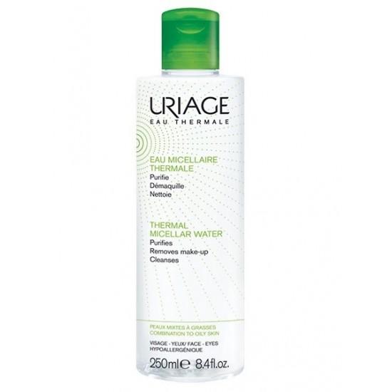 Uriage termalna micelarna voda za čiščenje mešane do mastne kože - 250 ml Kozmetika
