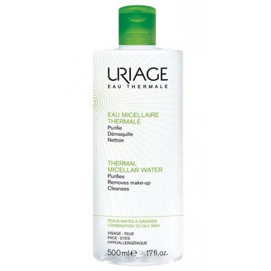 Uriage termalna micelarna voda za čiščenje mešane do mastne kože - 500 ml Kozmetika