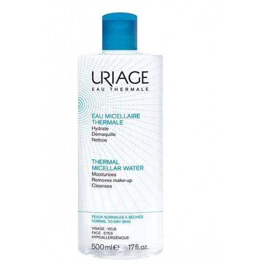 Uriage termalna micelarna voda za čiščenje normalne do suhe kože - 500 ml Kozmetika