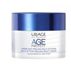 Uriage Age Protect Multi Action Peeling, nočna krema