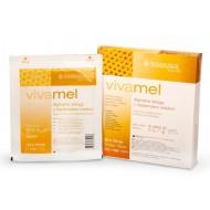 Vivamel, alginatna obloga z medicinskim medom 10x10 cm