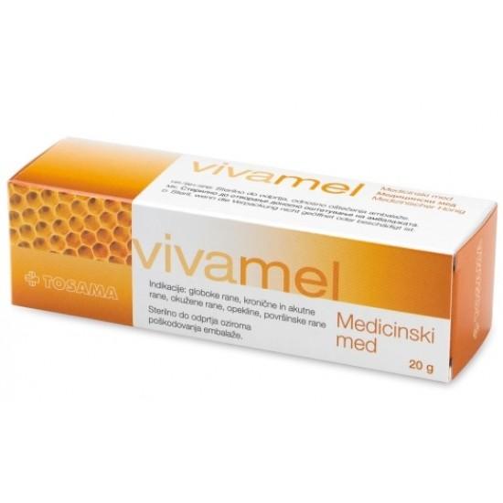 Vivamel, medicinski med - 20 g Pripomočki in zaščita