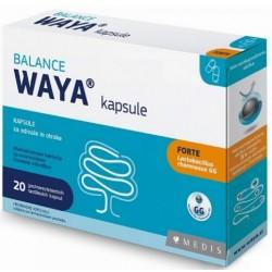 Waya Balance forte, probiotične kapsule za odrasle in otroke - 20 kapsul