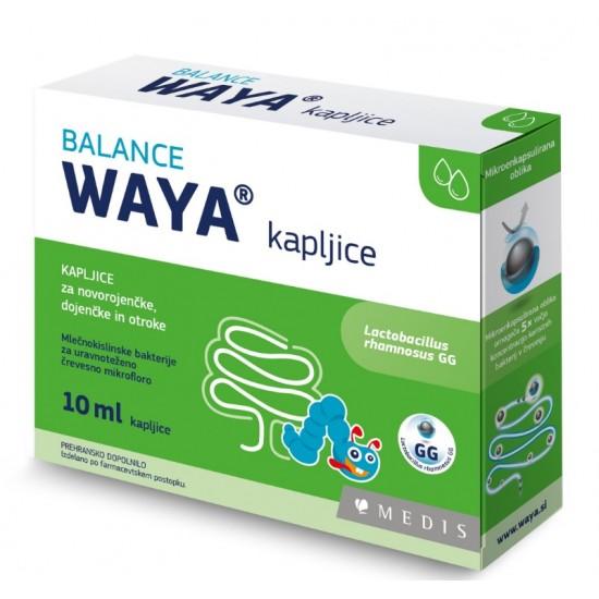 Waya Balance, kapljice za novorojenčke, dojenčke in otroke Prehrana in dopolnila