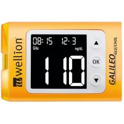 Wellion Galileo GLU/CHOL, merilnik sladkorja in holesterola v krvi -  rumen