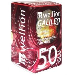 Wellion Galileo Glu, testni lističi za merjenje glukoze v krvi