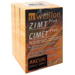 Wellion Cimet Plus, kapsule AKCIJA 2+1