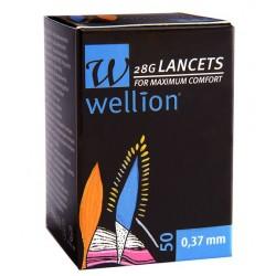 Wellion 28G, 100 lancet