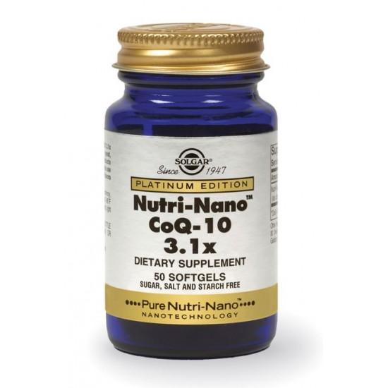 Solgar Nutri-Nano Co-Q10, kapsule Prehrana in dopolnila