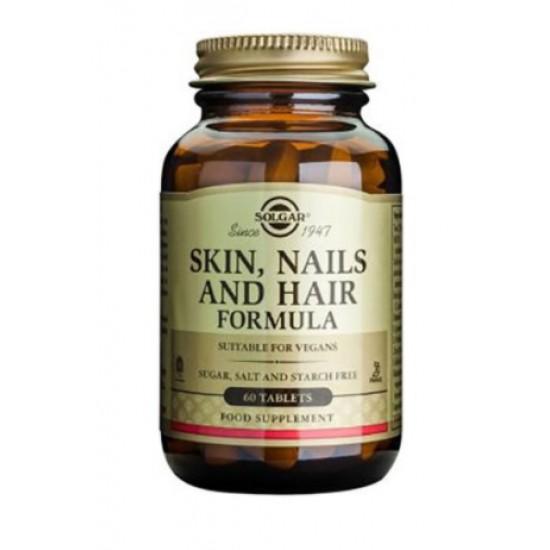 Solgar Skin, Nails and Hair formula, tablete Prehrana in dopolnila
