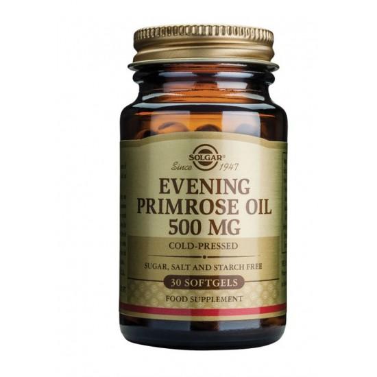 Solgar Svetlinovo olje 500 mg, kapsule Prehrana in dopolnila
