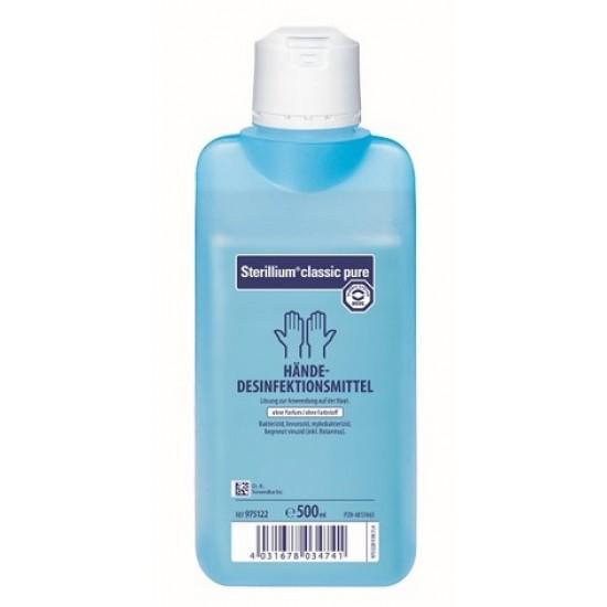 Sterillium Classic Pure, dezinfekcijsko sredstvo za roke - 500 ml Pripomočki in zaščita