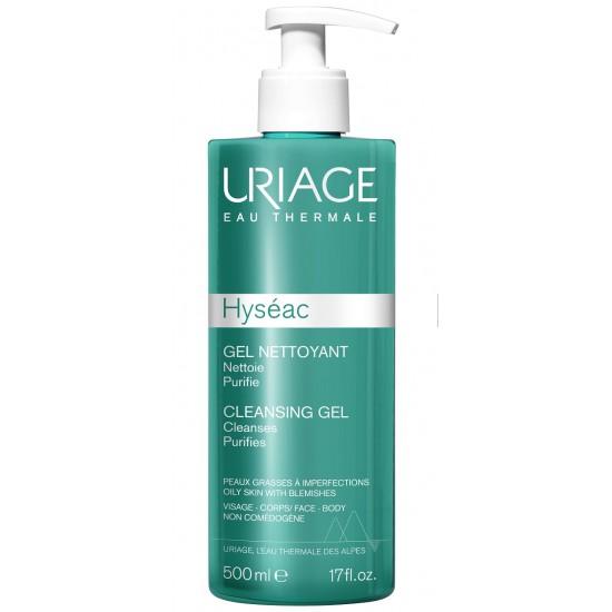Uriage Hyseac, gel za umivanje mešane/mastne kože - 500 ml Kozmetika