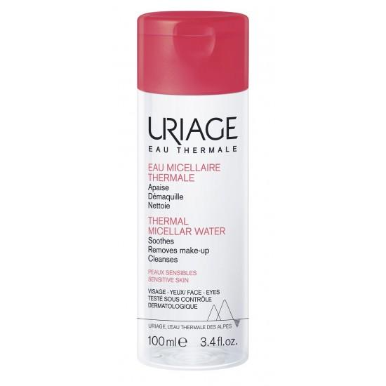Uriage termalna micelarna voda za čiščenje občutljive kože nagnjene k rdečici - 100 ml Kozmetika