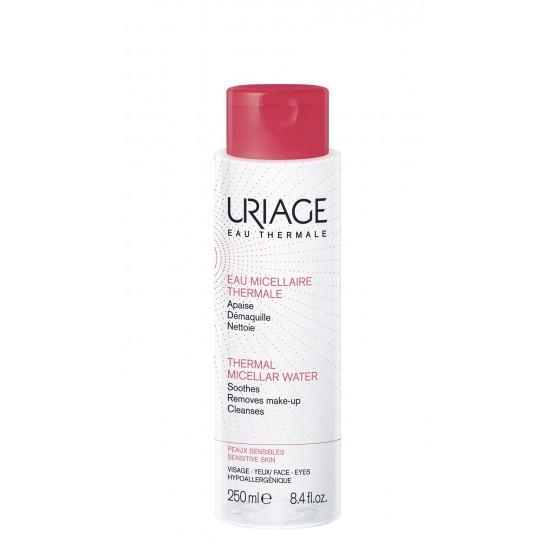 Uriage termalna micelarna voda za čiščenje občutljive kože nagnjene k rdečici - 250 ml Kozmetika