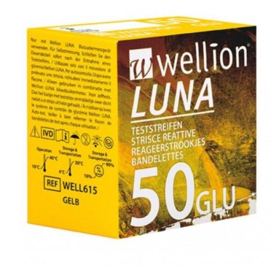 Wellion Luna, merilni lističi za glukozo Pripomočki in zaščita
